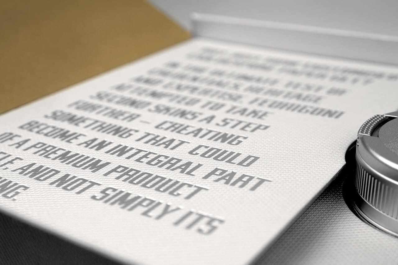 The Paper Skin innenseite produktbeschreibung